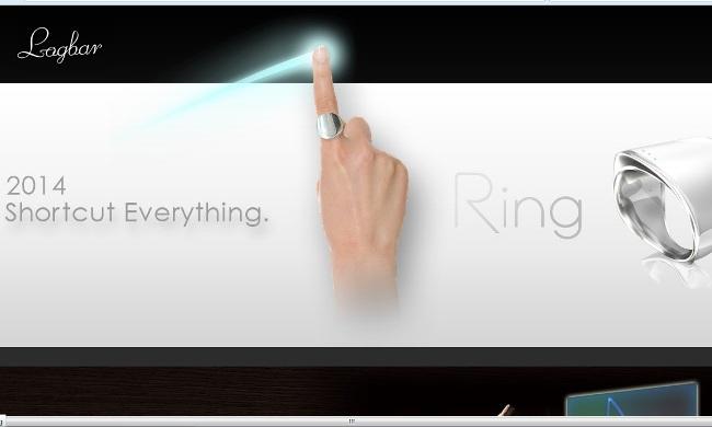 Screenshot of the Official Website of Logbar