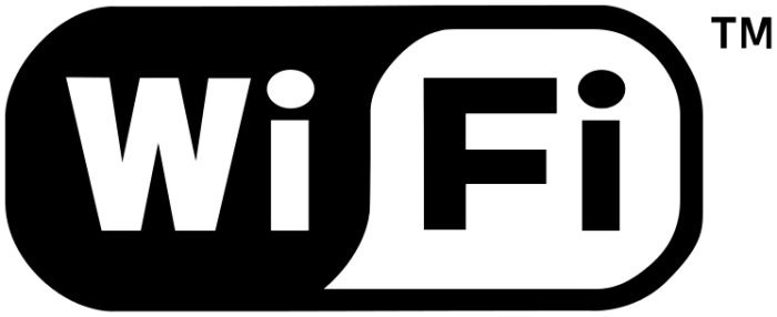 By Wi-Fi_Logo.svg: Wi-Fi Alliance derivative work: Amada44 (This file was derived from:  Wi-Fi_Logo.svg) [Public domain or Public domain], via Wikimedia Commons