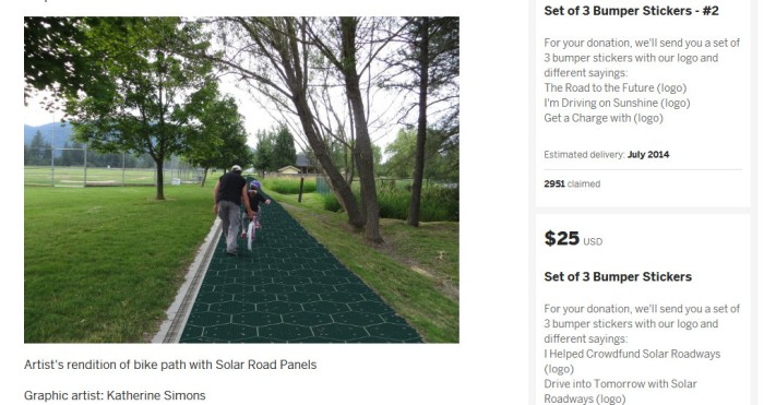 Screenshot from the official Solar Roadways website (http://solarroadways.com)