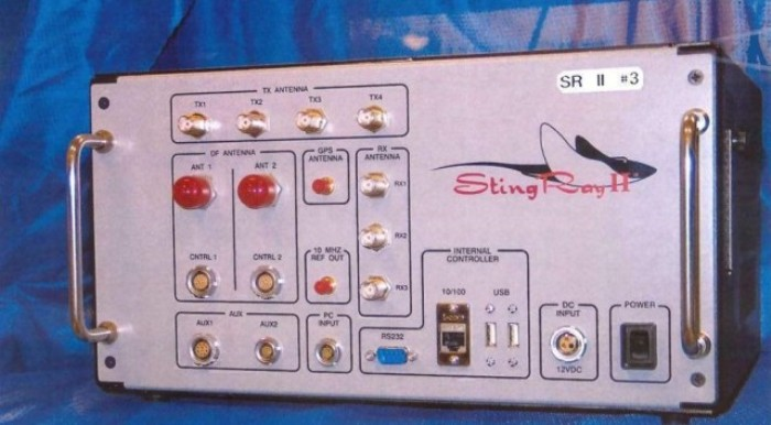 Only image of Stingray II released to the media, Fair Use