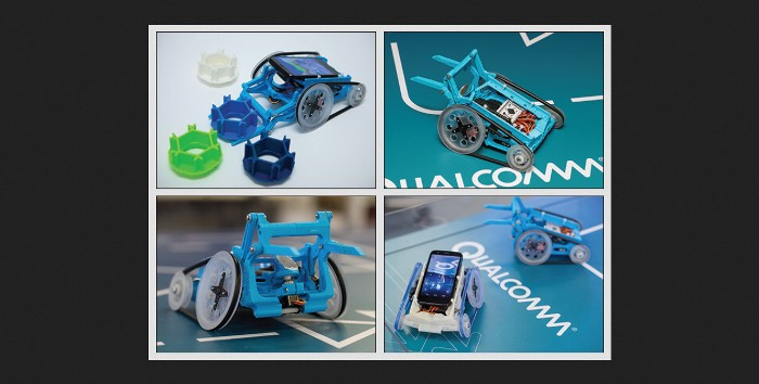 Screenshot of Qualcomm's Robotics page