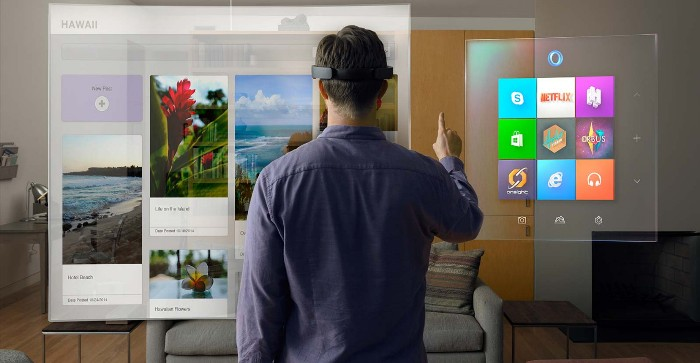 Screenshot of the official HoloLens page (http://www.microsoft.com/microsoft-hololens/en-us)