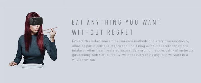 Screenshot of the official Project Nourished website (http://www.projectnourished.com/