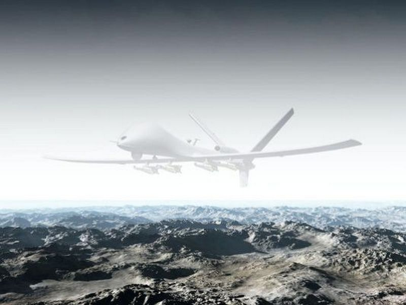 Illustration of a drone with invisibility cloaking Image credit: US Department of Defense