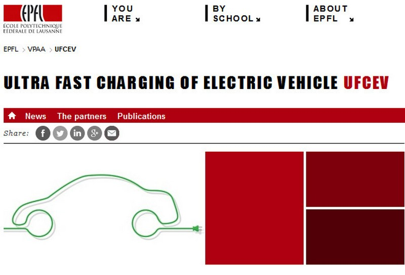 Image credit: EPFL (website screenshot) http://ufcev.epfl.ch/