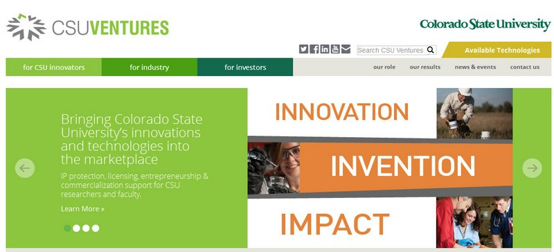 Image credit: CSU Ventures (official website screenshot)