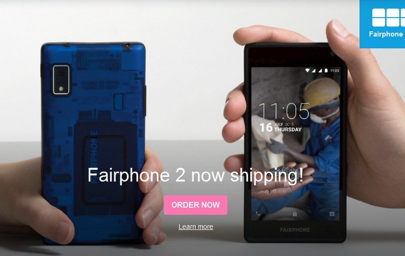 Image credit: Fairphone (website screenshot)
