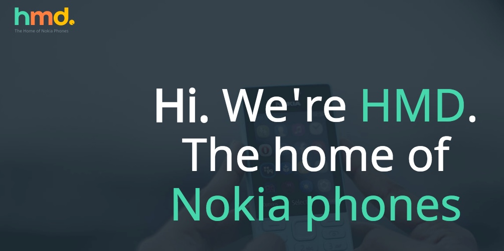 Nokia, made by HMD