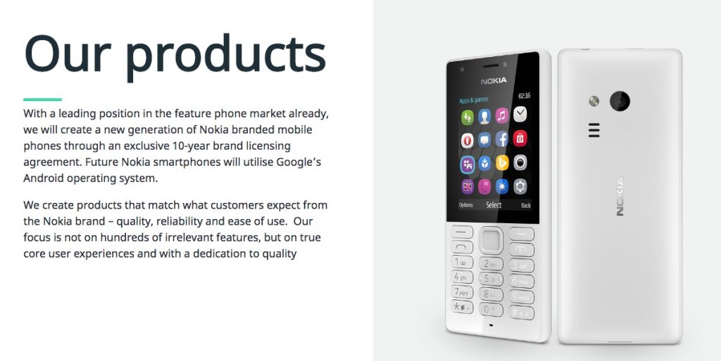 HMD, the makers of Nokia