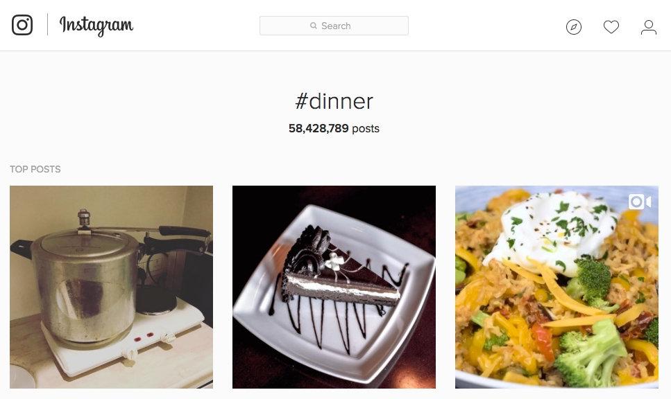#dinner on Instagram