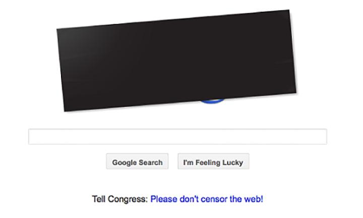 Google Doodle's SOPA PIPA