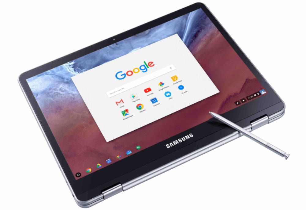 notebooks.com Samsung-Chromebook-PLus-and-Pro-Tablet-Mode