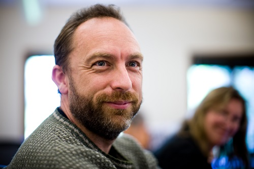 Wikipedia co-founder, Jimmy Wales (Image Source: Wikipedia)