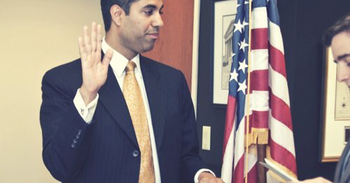 Ajit Pai, head of the US FCC (Image Source: freepress.net)