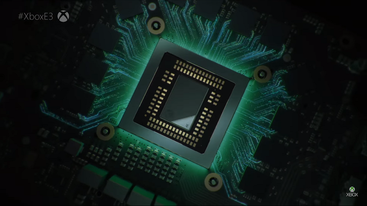The Scorpio Engine. Image Source: Xbox Youtube Channel