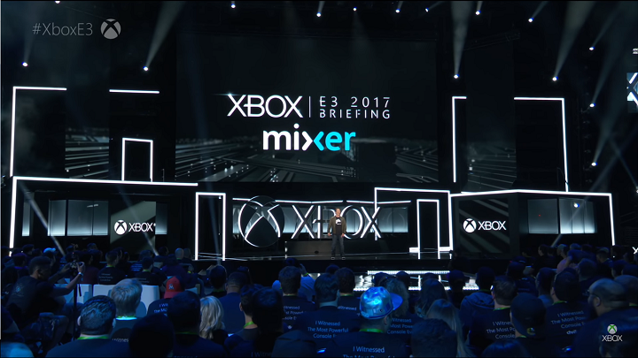 Phil Fisher on stage. Image Source: Xbox Youtube Channel