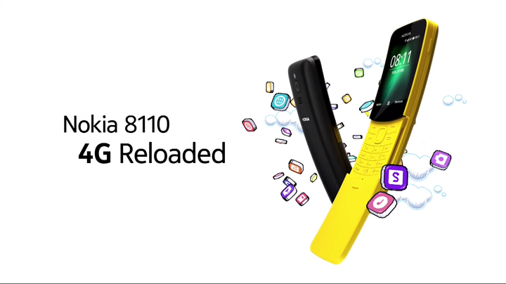 Nokia 8110 remake. (Image Source: Nokia)