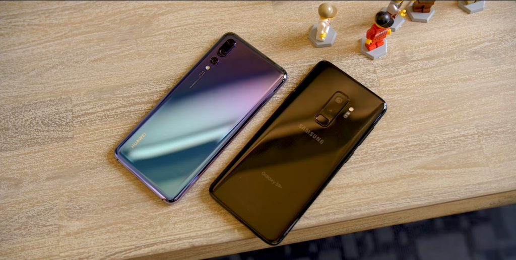 The Huawei P20 (Image Source: Android Authority Youtube channel)