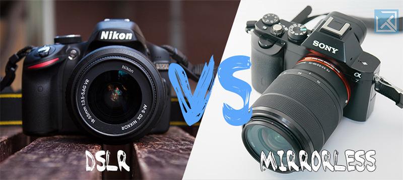 DSLR versus Mirrorless Cameras