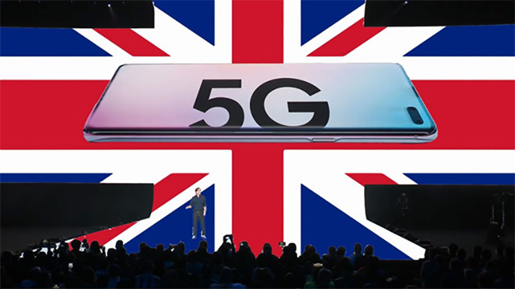 5G Launched in the UK