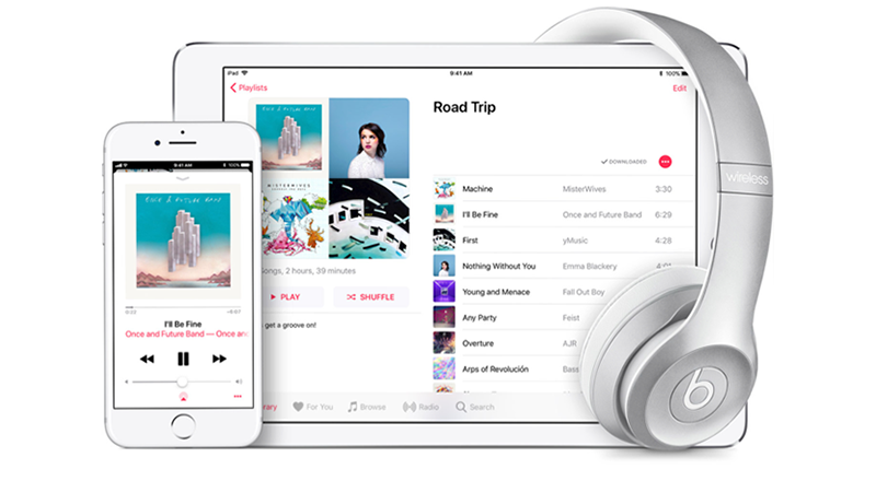 Apple Music Web Browser