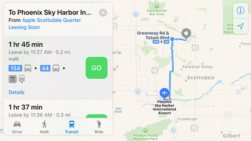 New Apple Maps
