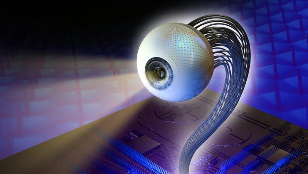 Electronic eyepiece