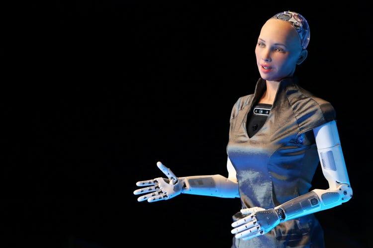 Sophia Human Robot