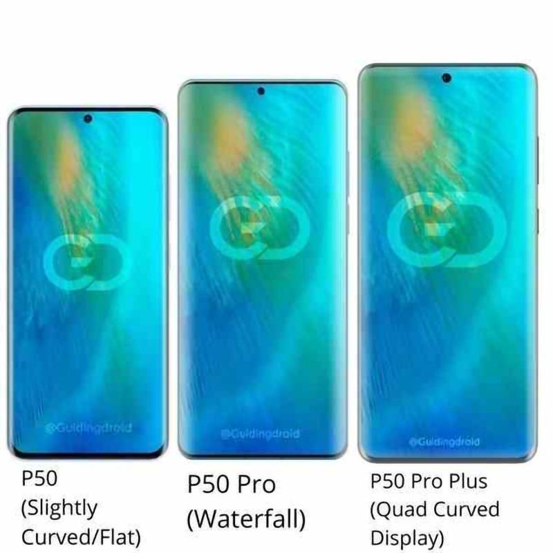 Huawei P50, P50 Pro, and P50 Pro Plus
