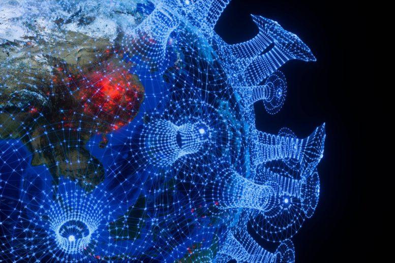 AI Coronavirus Concept