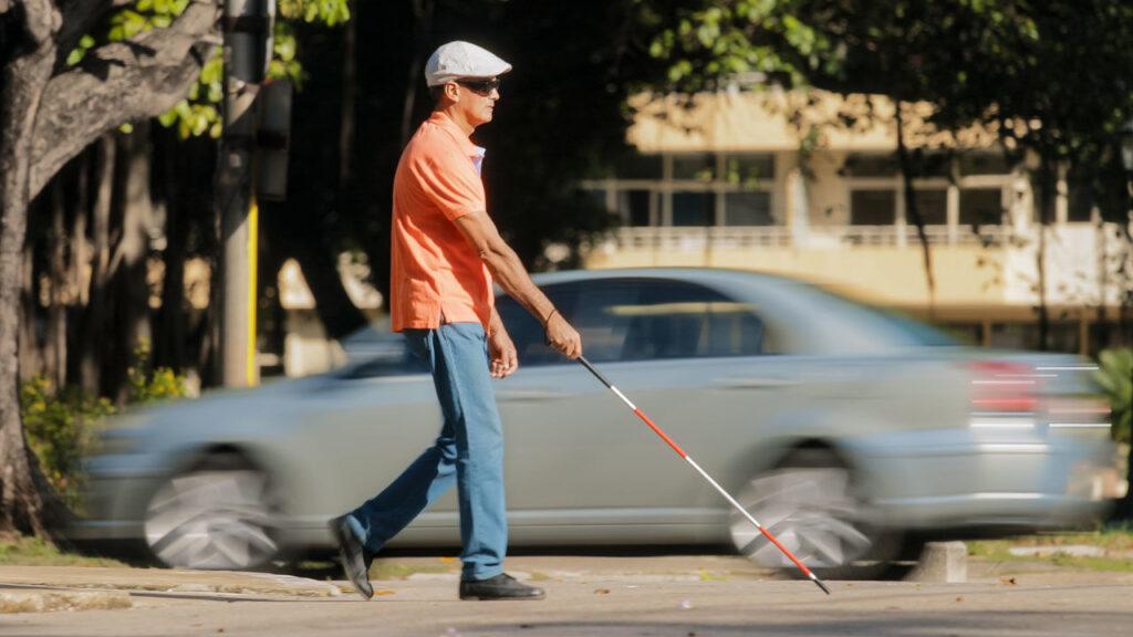 Blind Walking