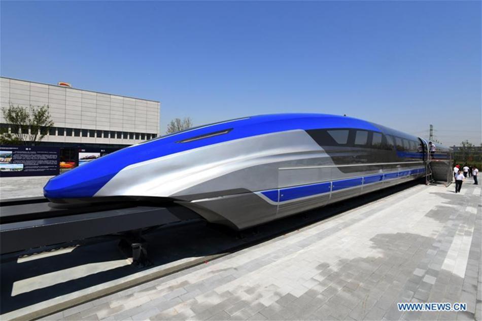 floating train