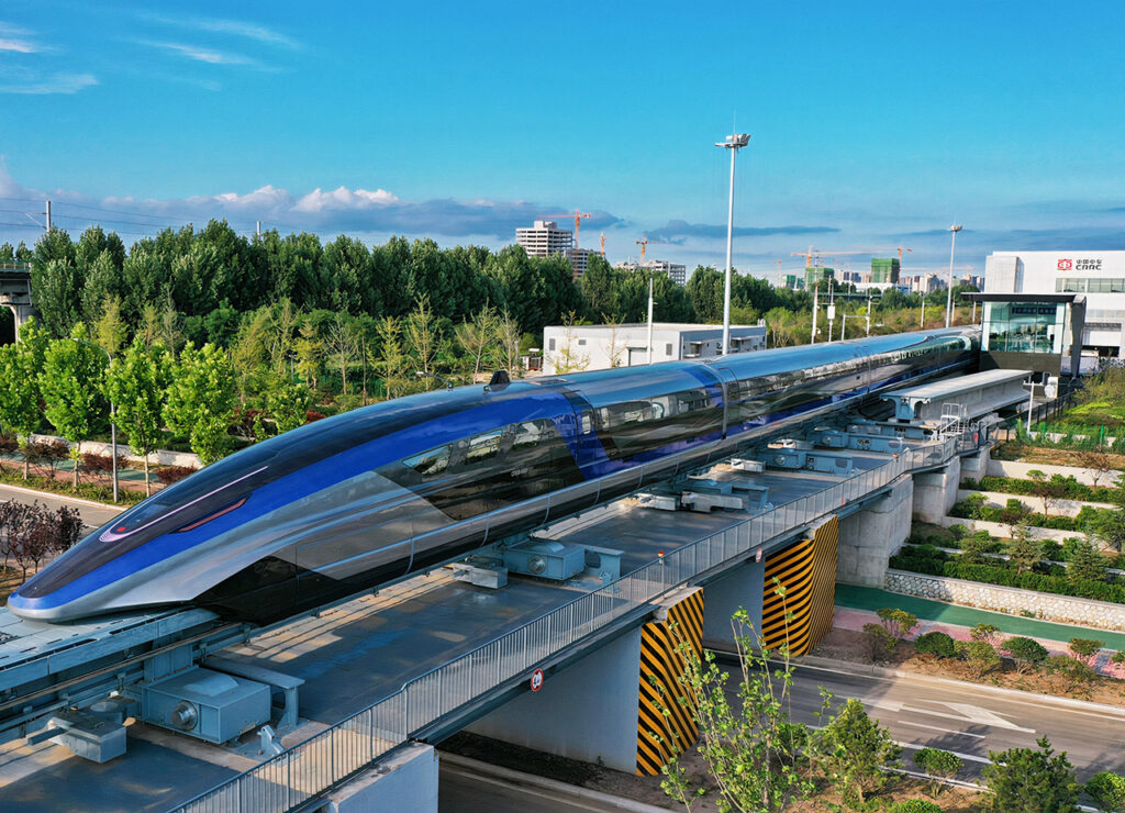 First High-Speed Maglev
