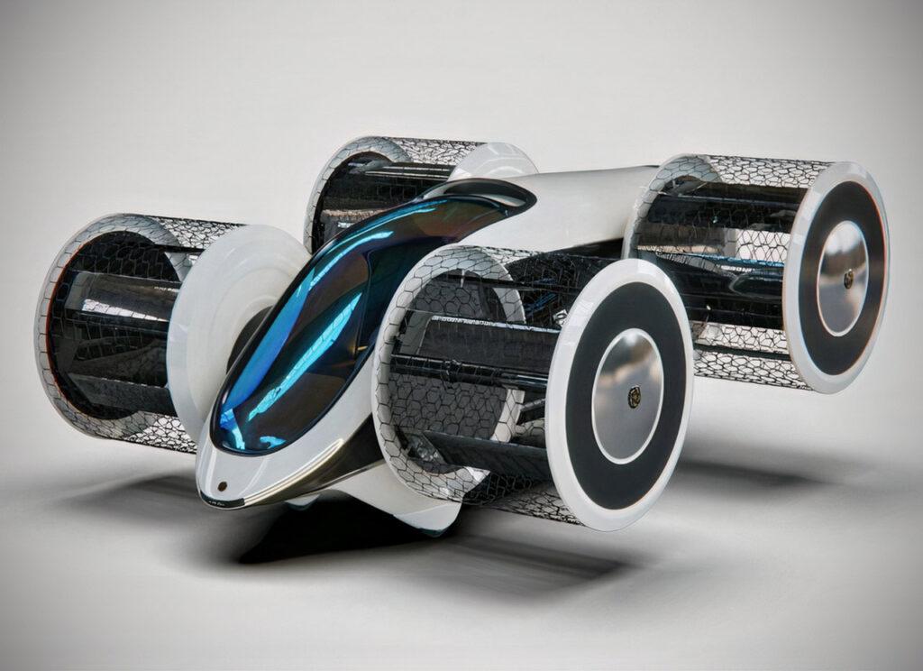 hybrid electric flying car